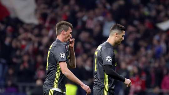 Mandzukic far from a move to Manchester United. EFE