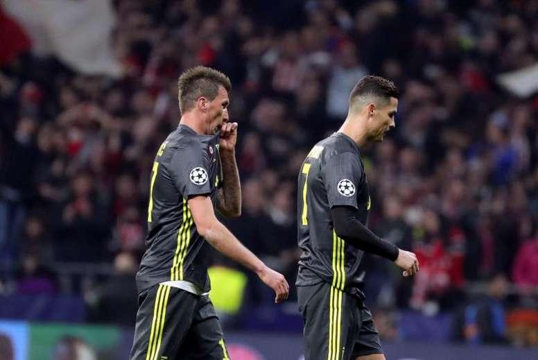 Mandzukic se vuelve a alejar del United. EFE