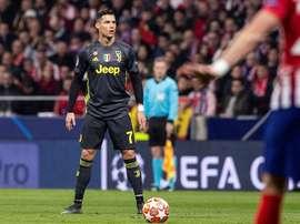 Les compos probabables du match de Ligue des champions entre l'Atlético et la Juve. EFE