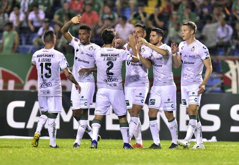 Santos Laguna goleó a Toluca. EFE