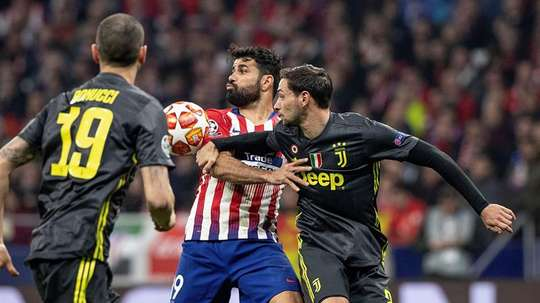 Les compos probables du match d'ICC entre l'Atlético et la Juventus Turin. EFE