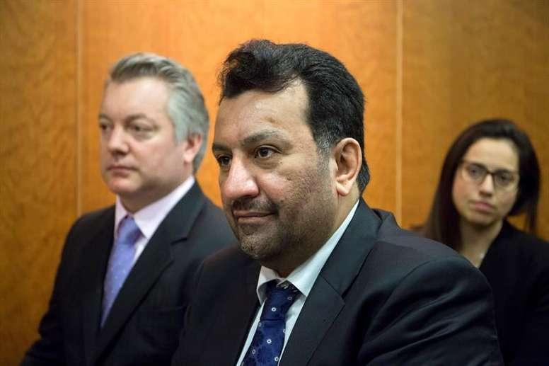 Al Thani recurre la sentencia del juicio contra 'Bluebay'. EFE