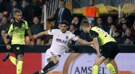 El Valencia se metió en octavos de la Europa League. EFE