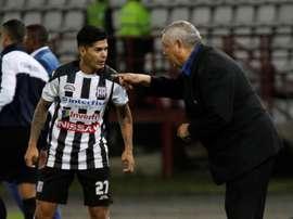 Deportivo Santaní hizo historia al clasificarse a la siguiente ronda de la Copa Sudamericana. EFE