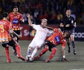 Herediano chafa el debut del 'Pity', que dio una asistencia. EFE