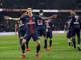 Les compos probables du match de Ligue 1 entre le PSG et Nîmes. EFE
