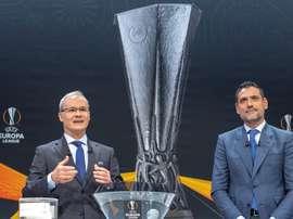 C'était le tirage au sort d'Europa League. EFE