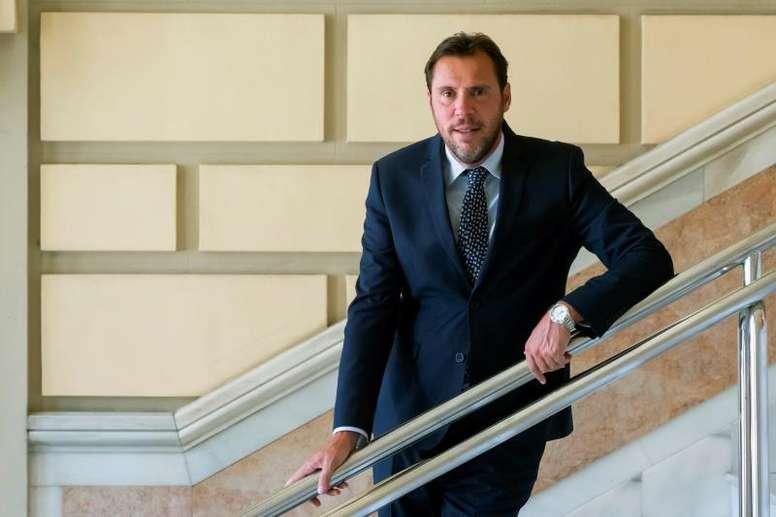 El alcalde de Valladolid criticó el pobre desempeño del equipo blanquivioleta. EFE/Archivo