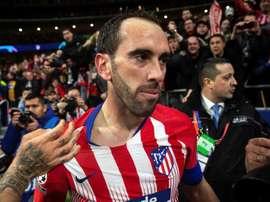 Godín's Atleti farewell is edging closer...EFE