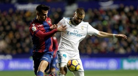 Il Real Madrid batte il Levante e si porta a -9. EFE