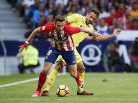 El Atlético abre las puertas del Metropolitano al mejor Villarreal de la temporada. EFE