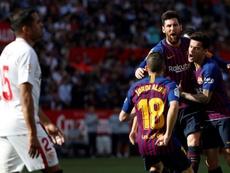 La Liga de Messi... y del Getafe. EFE
