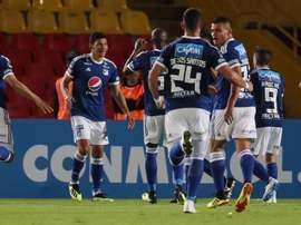 Millonarios sigue con el pleno en Copa. EFE