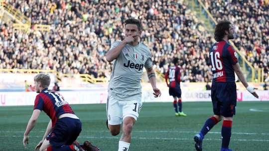 Dybala is a part of Sarri's plans. EFE