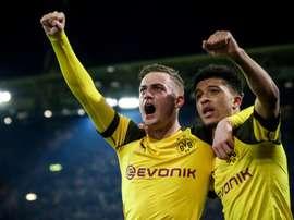 L'Eintracht Francfort se renseigne sur Bruun Larsen. EFE