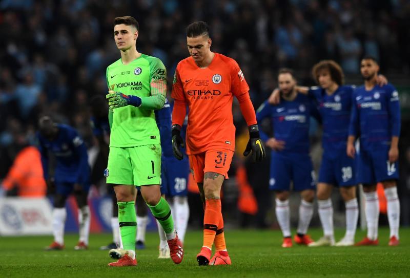Kepa sanctionné d'une grosse amende — Chelsea