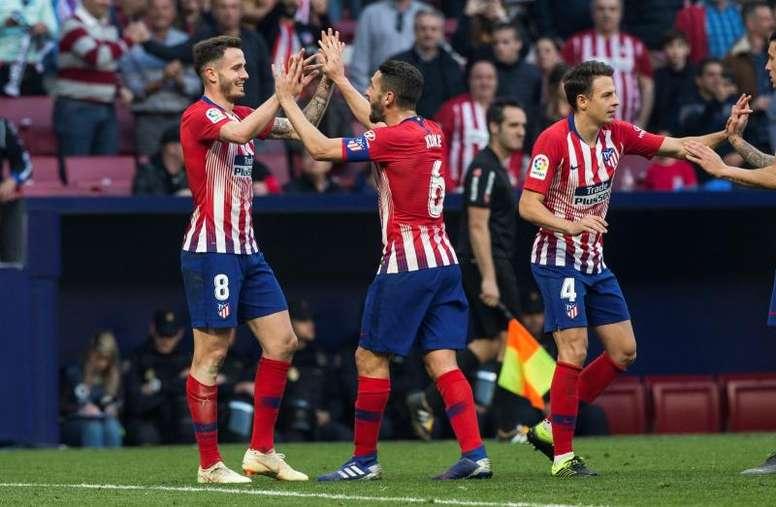 Los dos equipos madrileños ganaron sus partidos. EFE