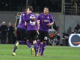 Polémico empate entre Fiorentina e Inter. EFE/EPA