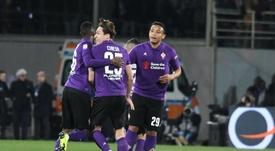 Muriel vive un momento muy dulce en la Fiorentina. EFE/EPA