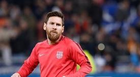 Leo Messi sigue acaparando elogios. EFE