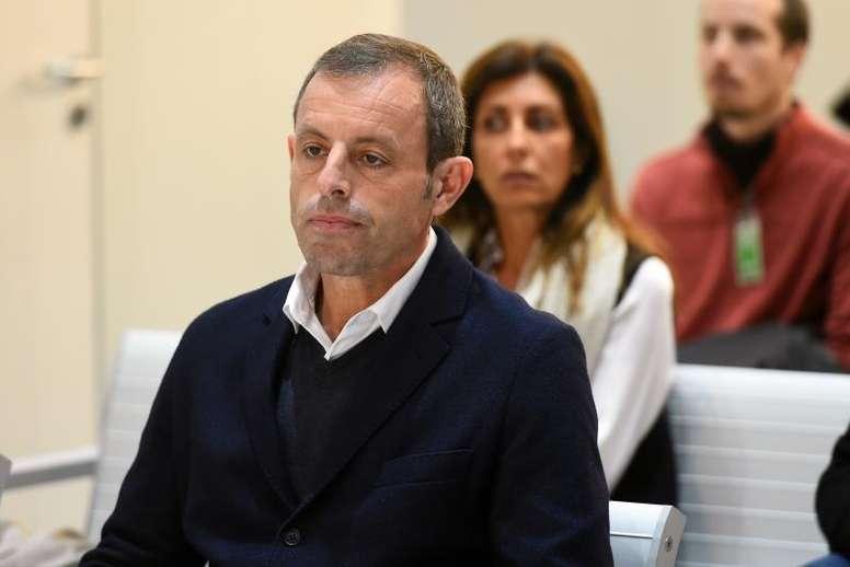 Rosell reclama casi 30 millones de euros al Estado. EFE