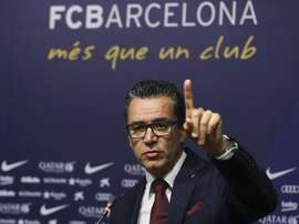 Josep Vives spoke about two ongoing controversies. EFE