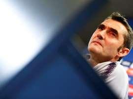 El Barça visita el Benito Villamarín. EFE