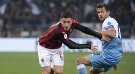 Davide Calabria vuelve a sonar para el fútbol español. EFE