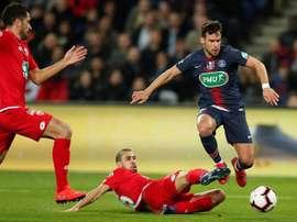 Les compos probables du match de Ligue 1 entre le PSG et Dijon. EFE