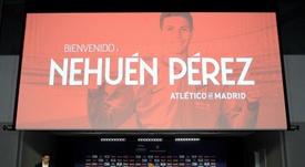 Nehuén Pérez podría vestir de rojiblanco el próximo curso. EFE