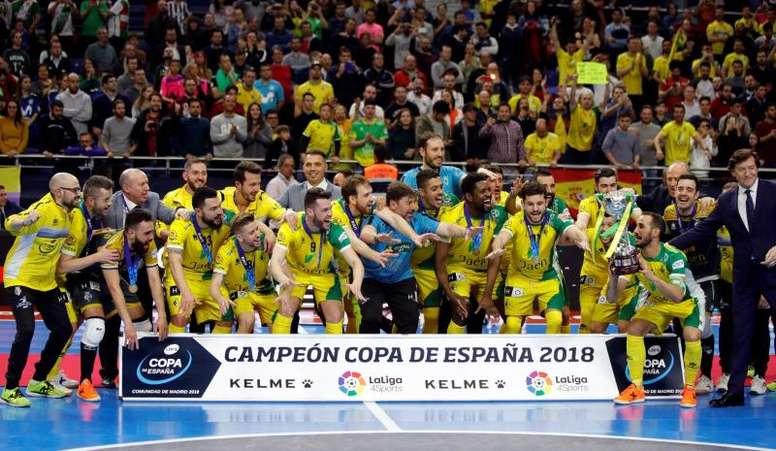 Se cumple un año de su segunda Copa de España. EFE