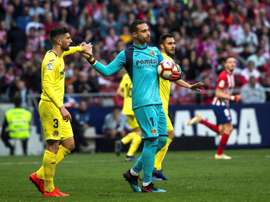 Villarreal v Atletico will be played in Spain and not in Miami. EFE