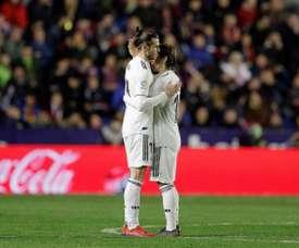 El madridismo respira tranquilo con Bale y Modric. EFE