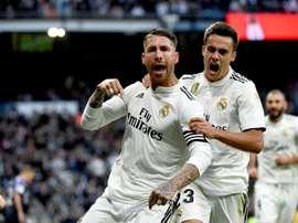 Reguilón évoque son passage au Real Madrid. efe