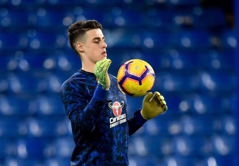 Lampard finds Kepa's ideal replacement. EFE