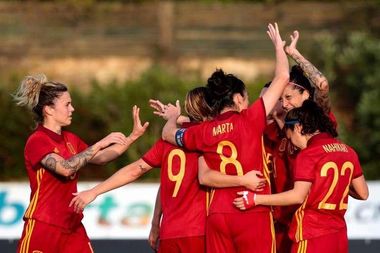La Selección de España jugará en El Sadar. EFE