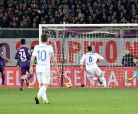 Muriel anotó el último gol de la Fiorentina. EFE