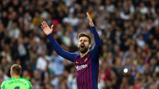 500ème match de Piqué avec le Barça. EFE