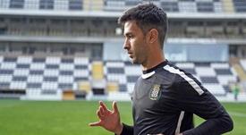 El jugador ha encontrado su sitio en Portugal. EFE