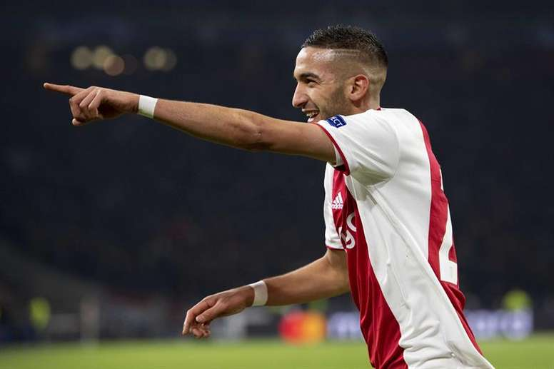 Ziyech sneaks onto Madrid's radar. EFE