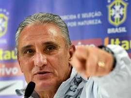 Le Brésil dévoile les numéros des joueurs pour les matchs amicaux. EFE