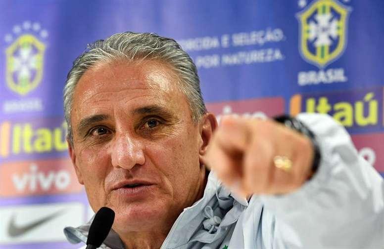 Brasil tendrá dos partidos más de preparación. EFE