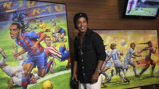 Este jueves fue el cumpleaños de Ronaldinho, entre otros. EFE/Archivo