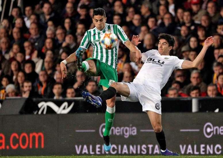 Bartra, incertain pour le début en Liga face à Valladolid. EFE
