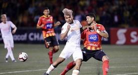 Martínez anotó un doblete. EFE/Archivo