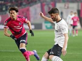 David Villa a inscrit un but sur les cinq continents. EFE