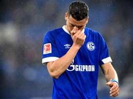 El Schalke 04 se descompuso en casa. EFE