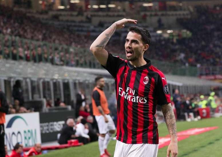El Milan planea las renovaciones de Suso y Donnarumma. EFE