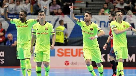 El Barça Lassa, a la final de la Copa de España. EFE