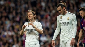 It was bad news for Real Madrid as both Bale and Modric picked up injuries. EFE